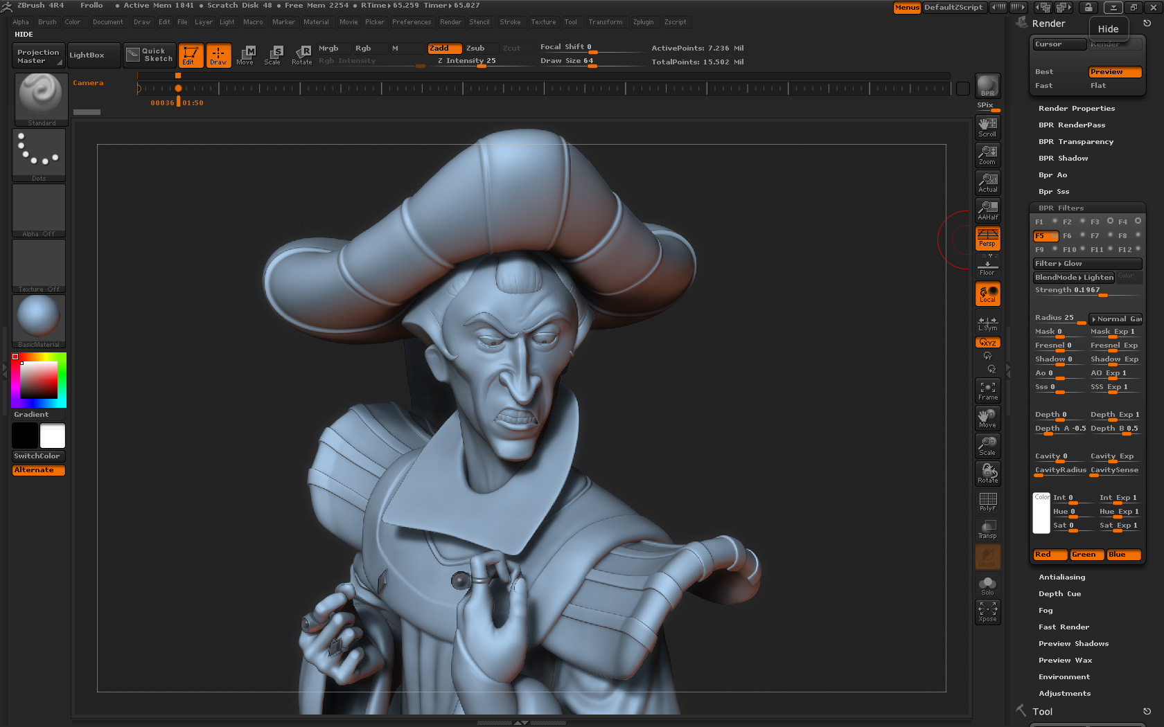 Frollo_interfaceZbrush01